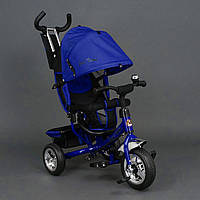 *Велосипед 3-х колёсный Best Trike Синий арт. 6588 (колеса пена)