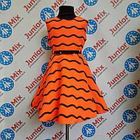 Платье нарядное на девочку в волны SNEKE ПОЛЬША, фото 1