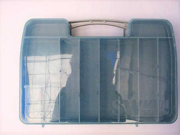 Органайзер Аquatech 2546 двухсторонний, 30*20*6 см, имеет 28 съемных перегородок, ручка, ушки для ремешка, фото 2