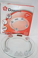 Весы напольные Domotec 2003A  до 180кг стекло