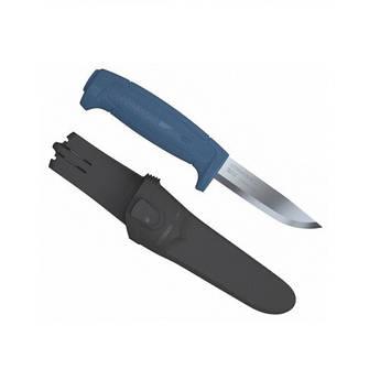 MORA Basic 546 нерж. сталь ручка синя