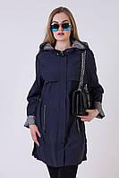 Модный женский плащ большого размера Oscar №16801.