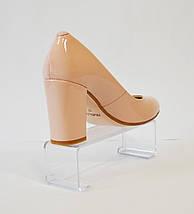 Туфли женсие пудра лаковые Nivelle 1527, фото 3