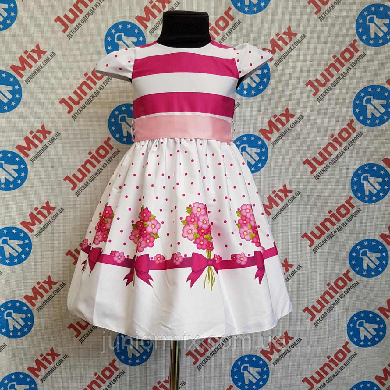 Детское платье на девочку  под пояс Alamakota