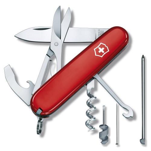 Нож Victorinox Compact 91mm\15 предм.\Red