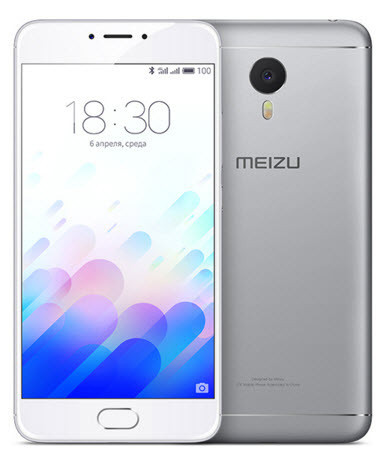 Смартфон Meizu M3 Note (2Gb+16Gb) (Silver) Гарантия 1 Год!