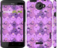 "Чехол на HTC One X Принцесса Пупырка. Adventure Time. Lumpy Space Princess v3 ""1228c-42"""