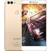 Смартфон ORIGINAL Bluboo Dual (Gold) (2Gb/16Gb; Dual camera 13MP/8MP; 3000 mAh) Гарантия 1 Год!