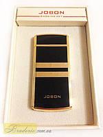 Зажигалка электроимпульсная USB Jobon с дисплеем 4780