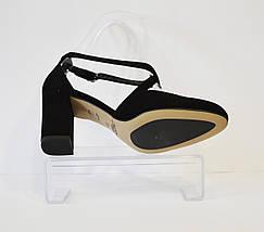 Замшевые летние туфли Kotyl 7075, фото 2