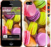 "Чехол на iPhone 5s Макаруны ""2995c-21"""