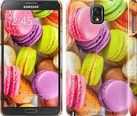 "Чехол на Samsung Galaxy Note 3 N9000 Макаруны ""2995c-29"""