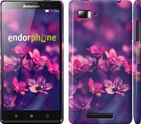 """Чехол на Lenovo Vibe Z K910 Пурпурные цветы """"2719c-85"""""""