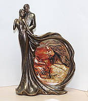 Статуэтка-фоторамка Veronese Влюбленные 32 см 74623 A4