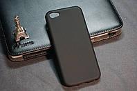Чехол бампер силиконовый Iphone 5c цвет черный