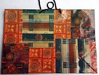 Подарочный пакет Гигант горизонтальный 45х31х15