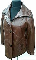 Куртки из кож. заменителя для женшин