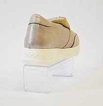 Женские светло-сиреневые слипоны Favi 140, фото 2