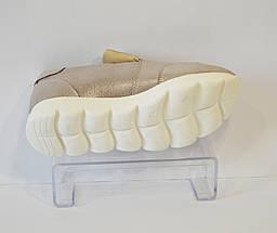 Женские светло-сиреневые слипоны Favi 140, фото 3