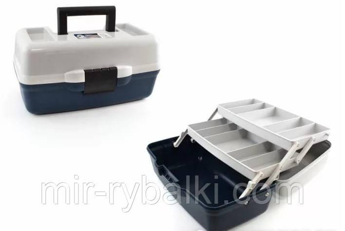 Ящик Aquatech 2 полки непрозрачная крышка