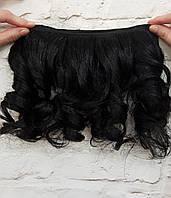 """Искусственные волосы на трессе """"Черри"""""""