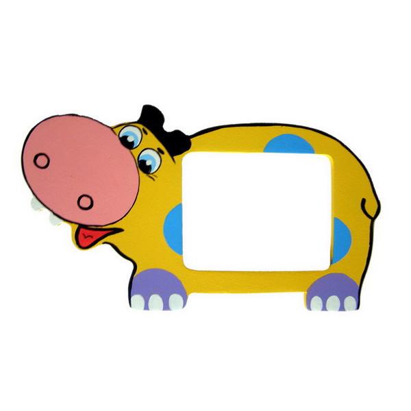 Детская фоторамка «Бегемотик», Funny Animals