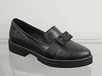 Модные молодежные туфли натуральная кожа
