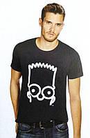 Мужская летняя футболка трикотаж бренда The Simpsons размер евро M 48 50