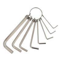 Ключи шестигранные 8шт 1,5-8мм (nickel) Grad