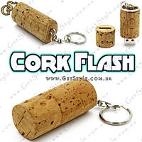 """Флешка из пробкового дерева - """"Corn Flash"""" - на 16 Gb!, фото 1"""