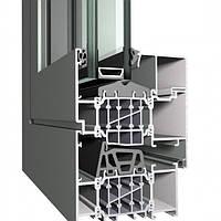 Изготовление окна из алюминиевой системы Reynaers