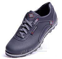 Кожаные туфли Columbia Winter Sport синие