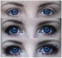 Синие линзы Vanilla, фото 1