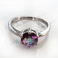 Кольцо покрытие серебро 925 17р мистик
