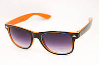 Очки wayfarer оранжевые