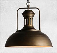 Винтажный подвесной светильник (люстра) P154237