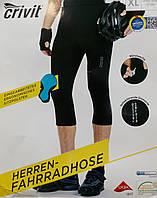 Мужские спортивные велосипедные шорты с памперсом Crivit
