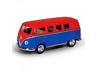 Машинка Kinsmart металлическая, микроавтобус, 13см, 1:32, 4 цвета, KT5060WM