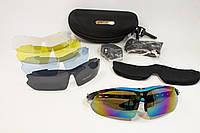 Защитные очки тактические 03 BLUE, фото 1