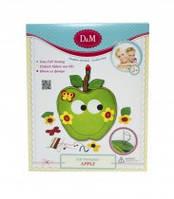 Игрушка детская для творчества набор шьем прихватку Яблоко, 50968