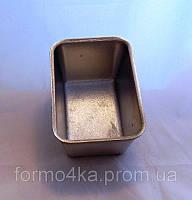 Форма для хлеба маленькая алюминиевая 0.4