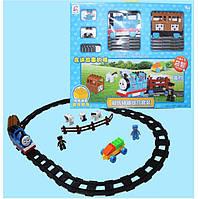 Конструктор железная дорога, на батарейках, 3041-7C