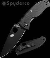 Нож Spyderco Tenacious Black