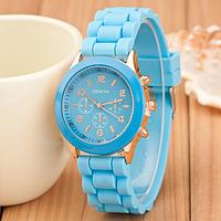 Женские часы Женева (Geneva) Blue