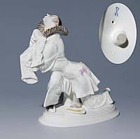 "Фарфоровая статуэтка ""Пьеро""  Мейсен, 1913 год"