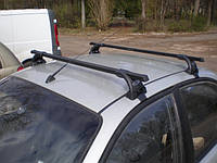 Поперечины Hyundai Santa Fe 2012- на гладкую крышу