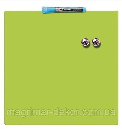Цветная лаковая магнитно-маркерная доска Quartet 360х360 мм