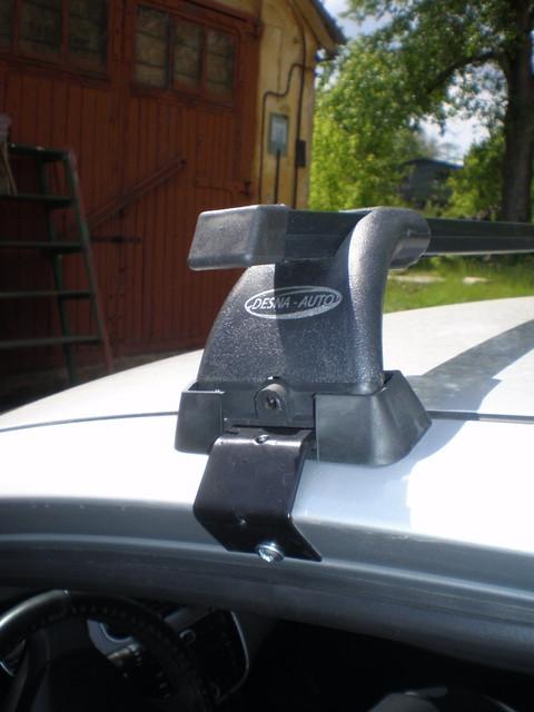 Поперечины Volkswagen B 7 2010- на гладкую крышу