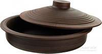 Сковорода с крышкой керамическая 28 см