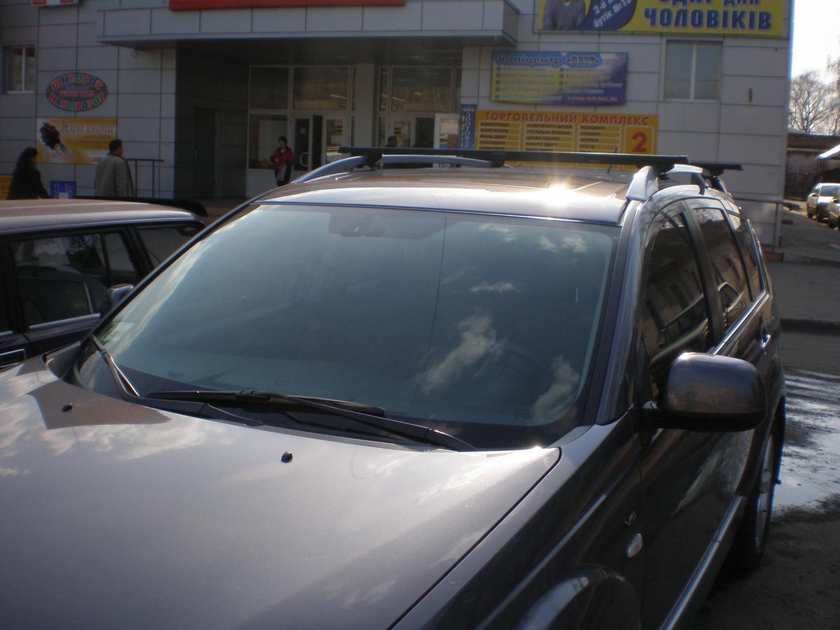 Поперечины УАЗ Патриот 2005- на рейлинги 2